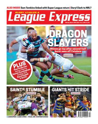 League Express issue 2960