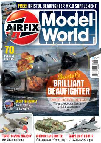 Airfix Model World issue May 2015