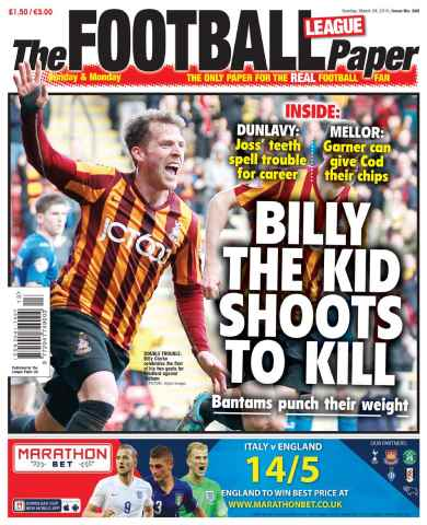 The Football League Paper issue 29th March 2015