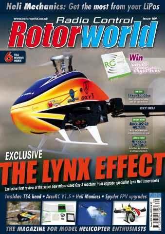 Radio Control Rotor World issue May 109