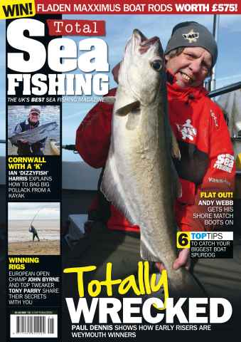 Total Sea Fishing issue May 2015