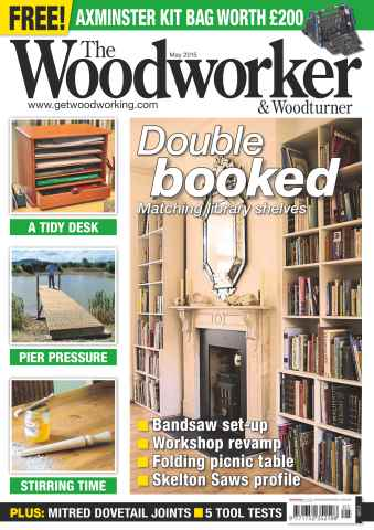 The Woodworker Magazine issue May 2015