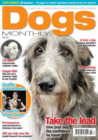 Dogs Monthly issue May 2015