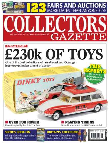 Collectors Gazette issue May 2015