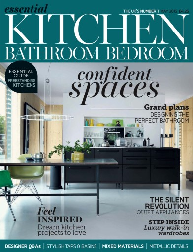 Title Cover Preview Essential Kitchen Bathroom Bedroom Preview. Essential Kitchen Bathroom Bedroom Magazine   May 2015