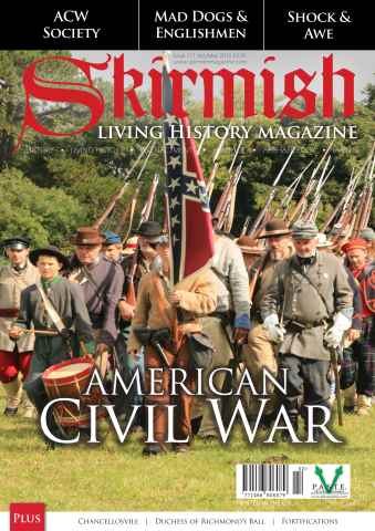 Skirmish Living History issue Skirmish Magazine Issue 111