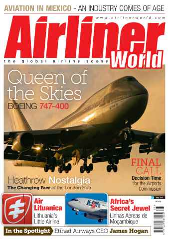 Airliner World issue May 2015