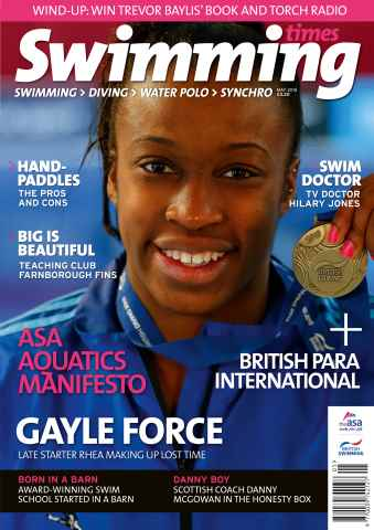 Swimming Times issue May 15