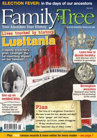 Family Tree issue Family Tree May 2015