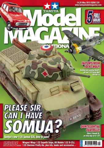 Tamiya Model Magazine issue 235
