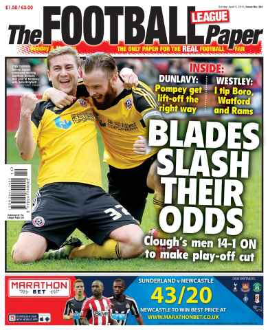 The Football League Paper issue 5th April 2015