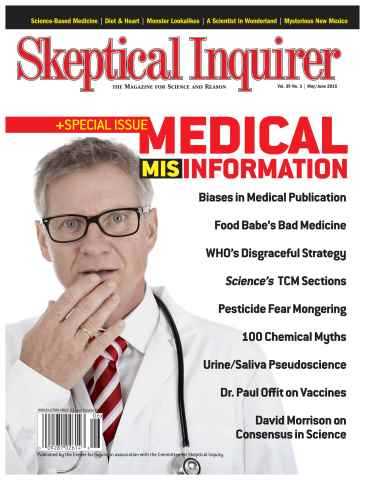 Skeptical Inquirer issue May/June 2015