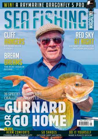 Sea Fishing Magazine issue May 2015