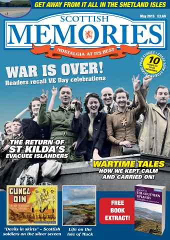 Scottish Memories issue May 2015