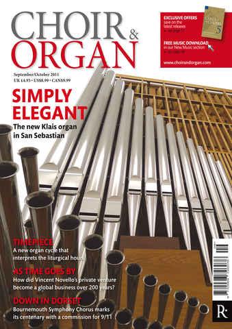 Choir & Organ issue Sept - Oct 2011