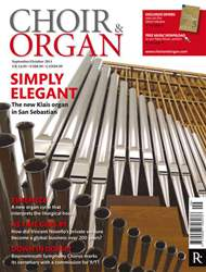 Choir & Organ issue Sept - Oct 2011