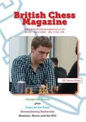 British Chess Magazine issue April 2015
