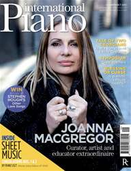 International Piano issue Sept - Oct 2011