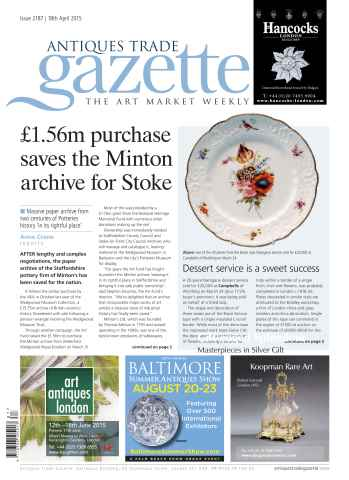 Antiques Trade Gazette issue 2187