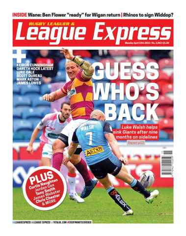 League Express issue 2962