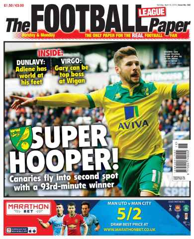 The Football League Paper issue 12th April 2015