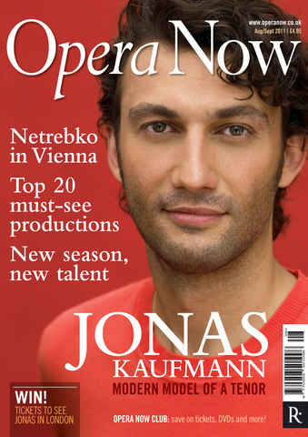 Opera Now issue Aug-Sep 2011