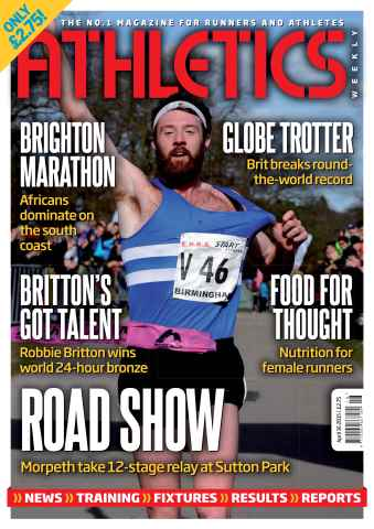 Athletics Weekly issue 16 April 2015