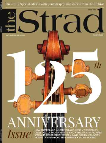 The Strad issue May 2015
