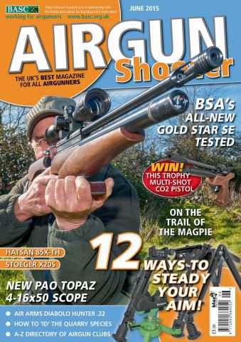 Airgun Shooter issue June 2015