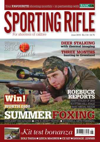 Sporting Rifle issue June 2015
