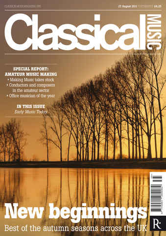 Classical Music issue 27th August 2011