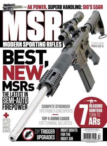Home Defender issue Modern Sporting Rifles Summer 2015
