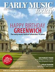 Early Music Today issue Sept - Nov 2011