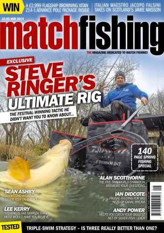 Match Fishing issue May 2015