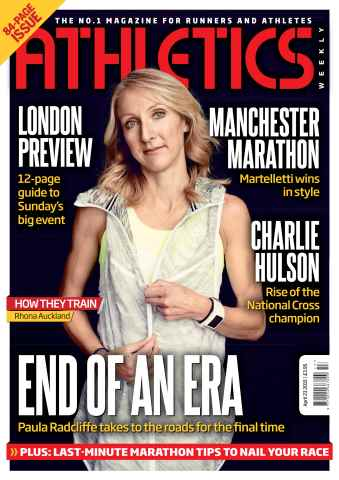 Athletics Weekly issue 23 April 2015