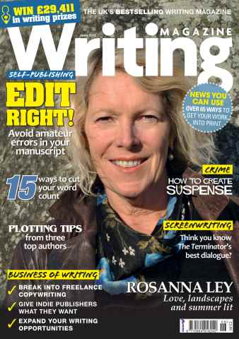 Writing Magazine issue June 2015