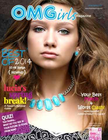 OMGirls Magazine issue WinterSpring 2015