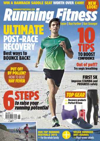 Running Fitness issue No.177 Ultimate Post-Race Recovery
