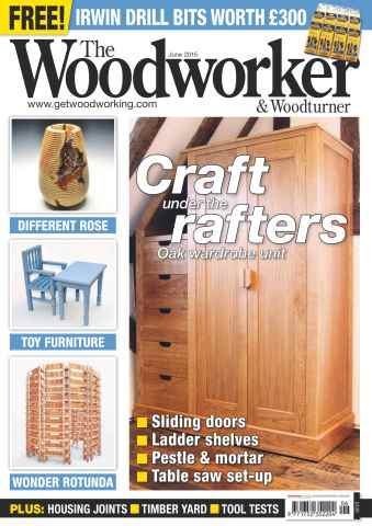 The Woodworker Magazine issue June 2015