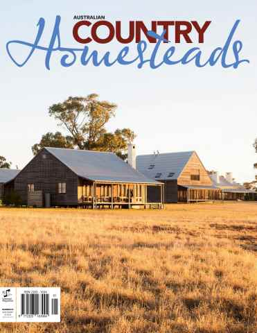 Australian Country Bookazines issue Homesteads
