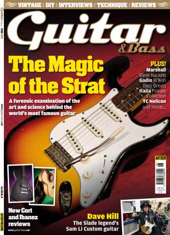 Guitar & Bass Magazine issue Jun-15