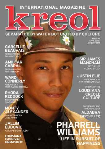Kreol Magazine issue Issue 13 - August 2015