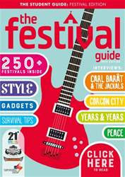 The Festival Guide issue The Festival Guide 2015