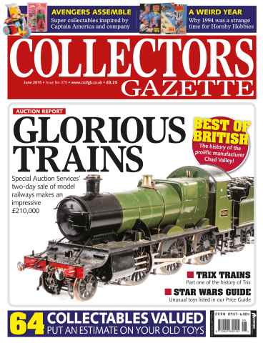 Collectors Gazette issue June 2015