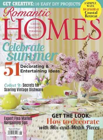 Romantic Homes issue June 2015