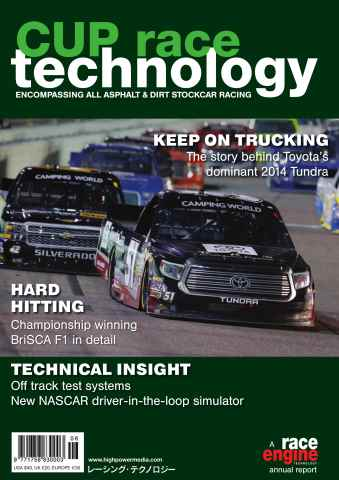 CUP Race Technology issue Volume 6 - March 2015