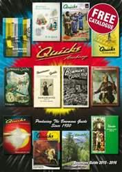Quicks Catalogue 2015 issue Quicks Catalogue 2015