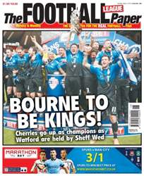 The Football League Paper issue 3rd May 2015
