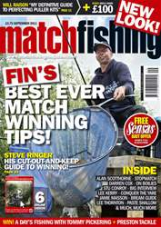 Match Fishing issue September 2011