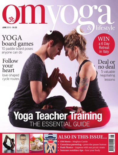 OM Yoga UK Magazine issue Jun-15